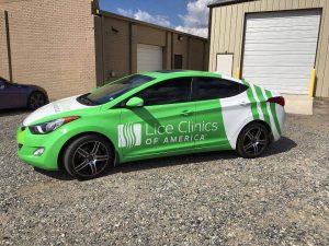 custom full car wrap